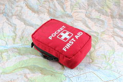Outdoor First Aid Kit Royalty Free Stock Photo