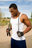 Outdoor fitness Stock Images
