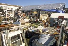 Outdoor flea market Stock Photos