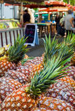 Outdoor Food Market Stock Photography