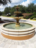 Outdoor fountain Royalty Free Stock Image