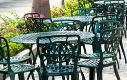 The Outdoor Furniture Stock Image