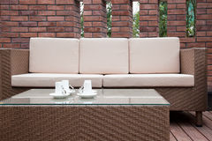 Outdoor furniture Royalty Free Stock Photo