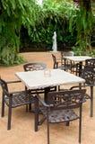 Outdoor furniture Stock Photos