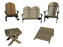 Outdoor Furniture Royalty Free Stock Photos