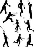 Outdoor games Royalty Free Stock Photos