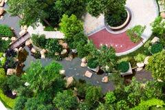 Outdoor garden Stock Images