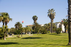 Outdoor garden park Antibes France French Riviera Royalty Free Stock Image