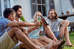 Outdoor garden party royalty free stock image