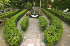 Outdoor gardens of The Sorolla Museum in Madrid, Spain Royalty Free Stock Photo
