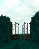 Outdoor Gates Royalty Free Stock Photography
