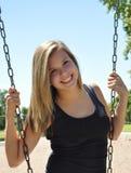 Outdoor girl Royalty Free Stock Photos