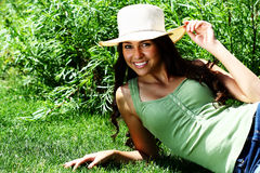 Outdoor Girl Stock Photography