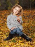 Outdoor girl Stock Images