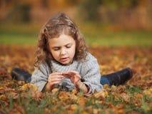Outdoor girl Stock Photography