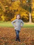 Outdoor girl Stock Image