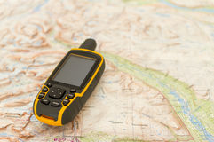 Outdoor GPS Royalty Free Stock Photography