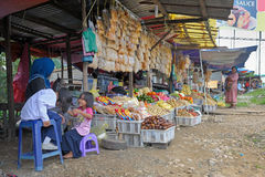 Outdoor grocery in Malaysia Stock Image