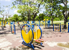 Outdoor gym Stock Photography
