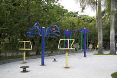 Outdoor gym Stock Images
