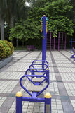 Outdoor gym in the park Royalty Free Stock Images