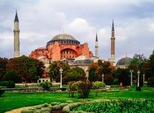 Exterior of Hagia Sophia, Istanbul Stock Image