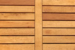 Outdoor Hardwood Tabletop Close-up Background Royalty Free Stock Photos