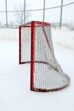 Outdoor Hockey Net Stock Photo