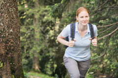 Outdoor Holiday - Hiking Stock Photo