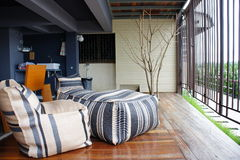 Outdoor home decoration Stock Image
