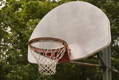 Outdoor Hoop Royalty Free Stock Photo