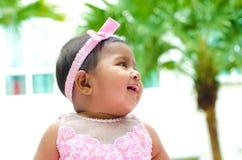 Outdoor Indian baby girl Stock Photos