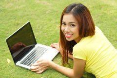 Outdoor internet Stock Images