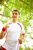 Outdoor jogging Royalty Free Stock Images