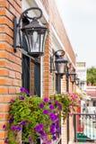 Outdoor lamp Stock Photo