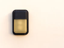 Outdoor lamp. On the wall Royalty Free Stock Image