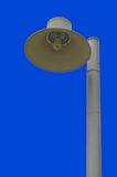 Outdoor Lamp With Blue Sky. Royalty Free Stock Photos