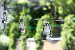 Outdoor lamps decoration
