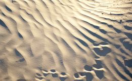 Outdoor landscape of wild desert with patterns Stock Photography