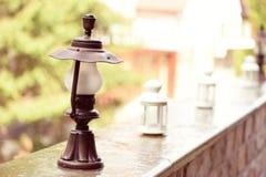 Outdoor lanterns Stock Image