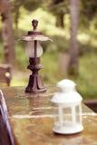 Outdoor lanterns Stock Photography