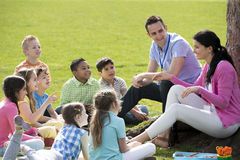 Outdoor Lesson Stock Images