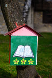 Outdoor library royalty free stock photography