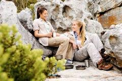 Outdoor lifestyle women Stock Photo