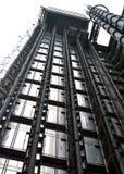 Outdoor lift shaft. An outdoor lift shaft in open air Stock Photo