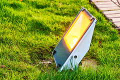 Outdoor light Stock Images