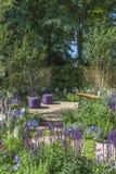 Outdoor living - in the garden Stock Image