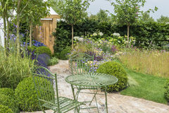Outdoor living - in the garden Royalty Free Stock Photo