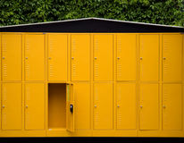 Outdoor Lockers Stock Images