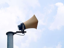 Outdoor loudspeaker Stock Photography
